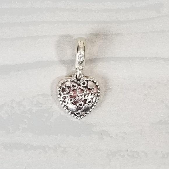 9dc57042f Pandora Jewelry | Love Makes A Family Charm | Poshmark